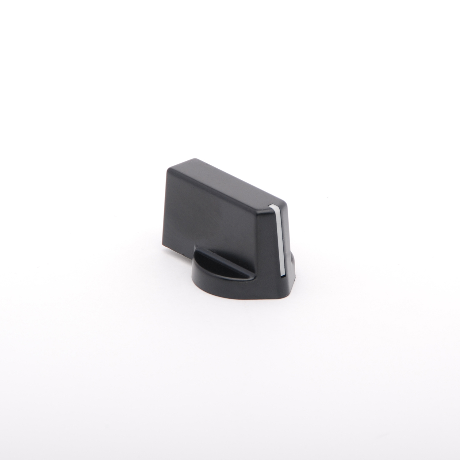 U/51 Streamline Black Hex Knob